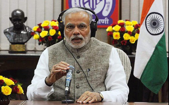 Narendra Modi on Mann Ki Baat