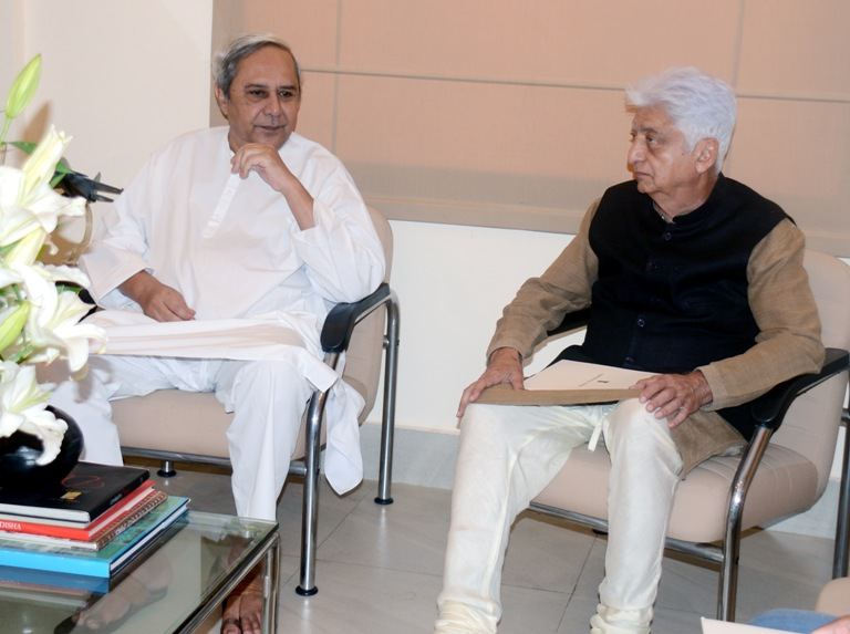 Odisha Chief Minister Naveen Patnaik with Wipro Chief Azim Premji