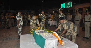 BSF Jawan Kishore Rout died in air crash - hist dead body