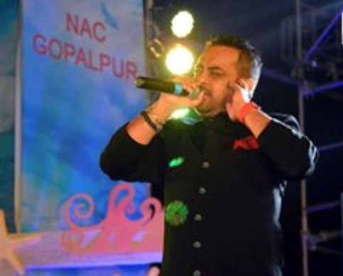 Krishna Beura at Gopalpur beach festival