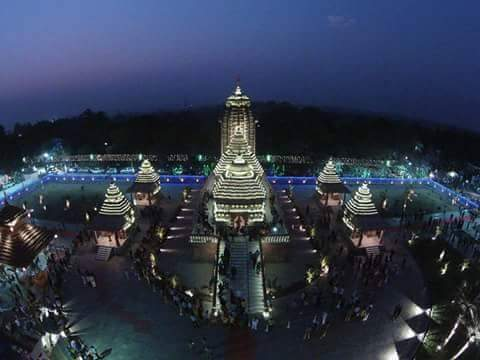 Images of New Jagannath Temple Balasore Balgopalpur Odisha by Emami Paper Mill