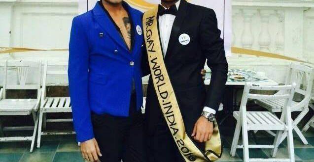 Odisha's Anwesh Sahoo won Mr. Gay World India, to represent Gay World in Europe