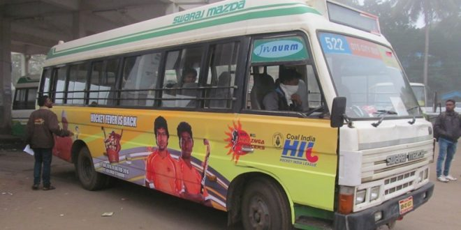 City Buses With Kalinga Lancers' Branding Hit The Roads