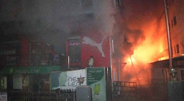 Fire breaks out at All That Jazz showroom