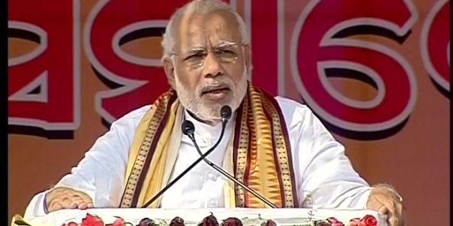 Narendra Modi at Bargarh convention in Odisha