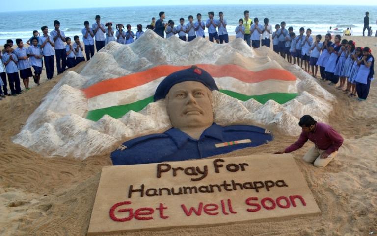 Pray for Hanumanthappa