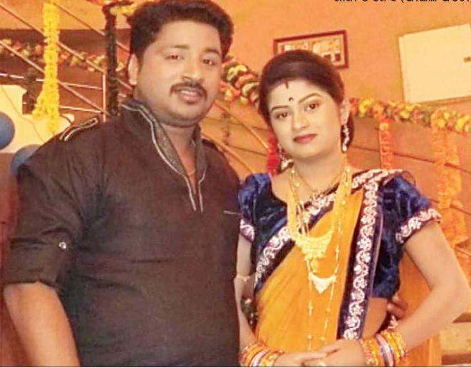 Odia actors Raja and Jessy