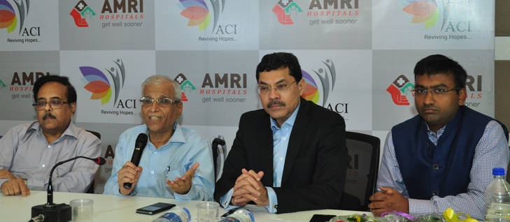 AMRI Hospitals press meet on ACI collaberation to start Cancer Institute