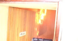 Fire at Odisha chief minister's office