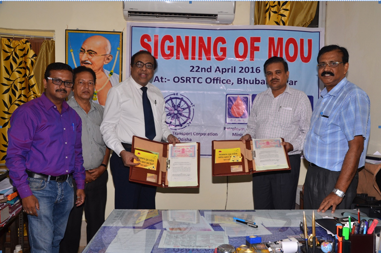 OSRTC Inks MoU With PCRA For Fuel Efficient Driving