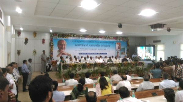 Odisha CM Dedicates 100 Water Projects