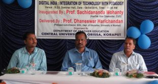 Odisha Central University Holds Seminar On Digital India