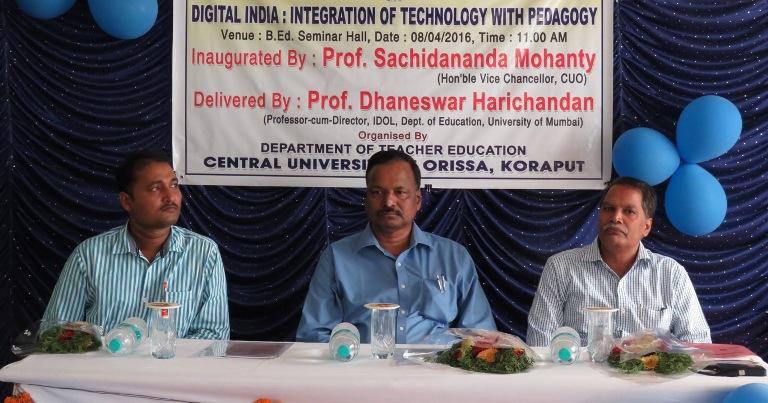 Odisha Central University Holds Seminar On Digital India