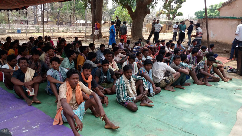 Over 200 Maoist supporters surender before Odisha police