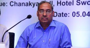 Shri A. K. Jha, CMD, MCL addressing media at Bhubaneswar_Pic 2