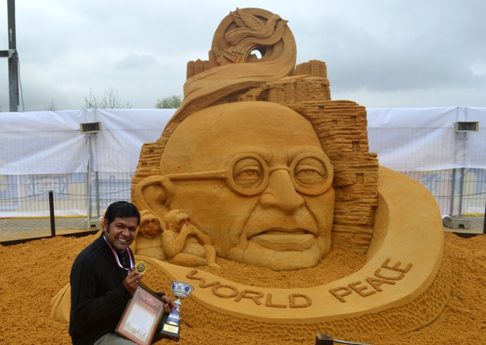 Moscow Sand Sculpture Championship