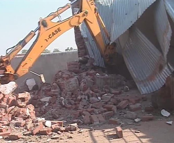Balangir Administration Starts Evicting Encroached Land By Timan