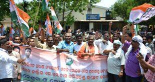 Congress, BJP Intensify Stir Against Dasburma, MM Das