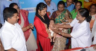 Inactivated Poliovirus Vaccine launched in Odisha