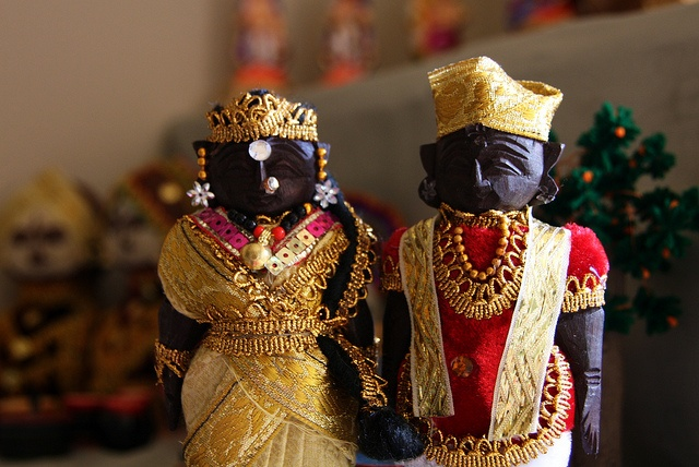 Lacquer Dolls' Marriage Gains Fame In Balasore
