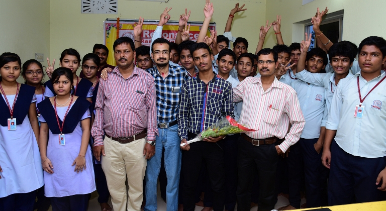 Resonance Residential College Felicitates Its Meritorious Students