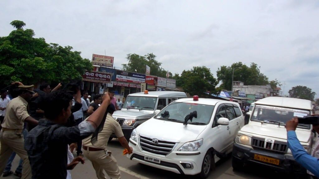 Central Ministers' Convoy Attack: Rajnath Asks Naveen To Take Action