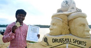Sudarsan Pattnaik Won Gold At World Champ Of Sand Sculpting