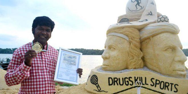 Sudarsan Pattnaik Won Gold At World Champ Of Sand Sculpting