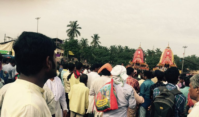 Sand Artist Sudarsan Attacked During Bahuda Yatra