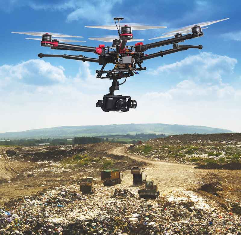 Drones to spot garbage in Cuttack