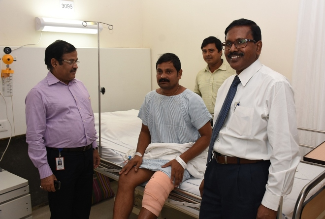 AMRI Hospitals Conducted Free Orthopaedic Surgery