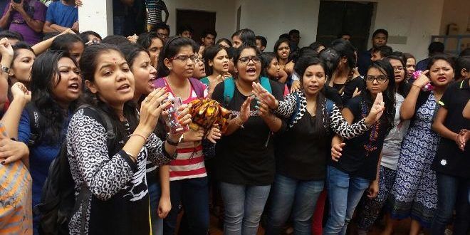 NIFT Girl Molestation: KIIT Students Block Road