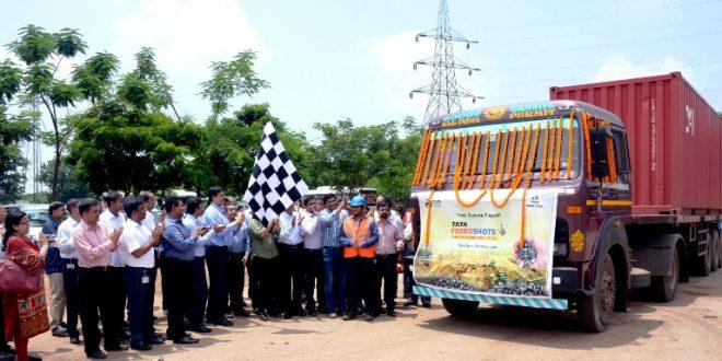 Tata Steel Starts Export of Tata Ferroshots From Kalinganagar Steel Plant