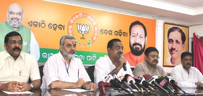 BJP Chalks Out Strategies For Odisha Panchayat Polls