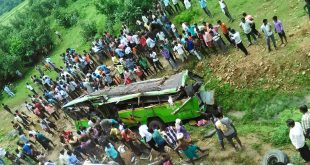 Angul Bus Accident in Odisha - Bus Fell of Bridge