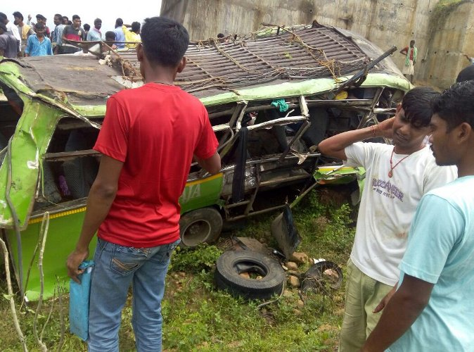 Angul bus accident