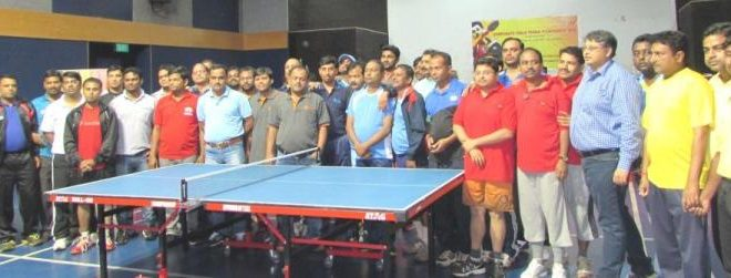 SPL Barbil Corporate Table Tennis