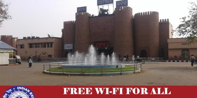 Free WiFi at Cuttack Railway Station