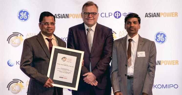 OPGC wins Gold Award at Asian Power Awards