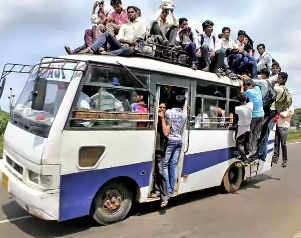 overloading buses