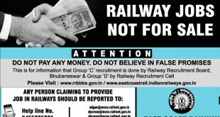 Railway job racket