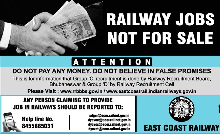 Railway job racket