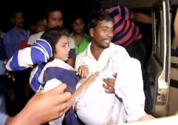 28 Injured As Wall Collapsed In Odisha School