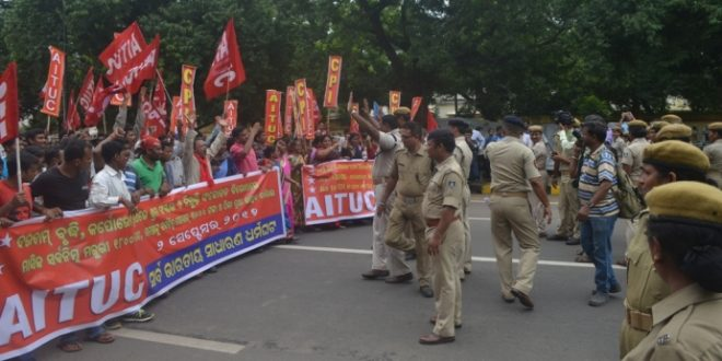 Bharat Bandh Affects Normal Life In Odisha