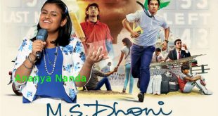 Ananya Nanda Lends Voice for MS Dhoni - The Untold Story