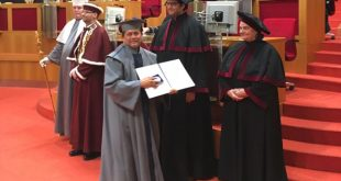 Honorary Doctorate on Achyuta Samanta