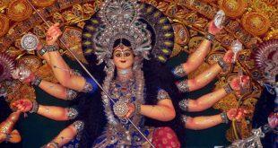 Durga idols immersion