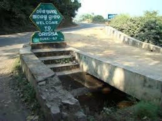 odisha west bengal border dispute