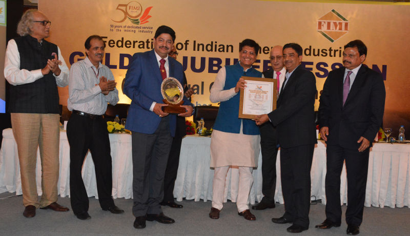 Tata Steel's Sukinda Chromite Mine Bags Bala Gulshan Tandon Excellence Award From FIMI