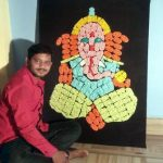 Berhampur youth Satyanarayan gets national recognition for miniature sculptor